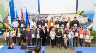 """April 16, 2019, the XVIII scientific and practical conference of foreign students of preparatory faculties and departments of Ukraine """"Paths to Science: First Steps"""" took place."""