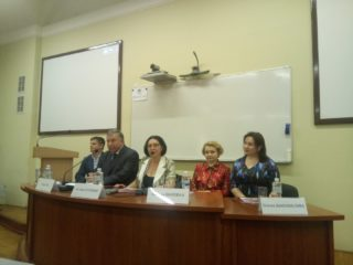 "May 21, 2019 at the preparatory faculty of the Taras Shevchenko National University of Kyiv, an All-Ukrainian scientific-practical conference with international participation ""Pre-university training: innovations, problems and prospects"" was held for teachers and academic staff of domestic and foreign higher educational institutions."